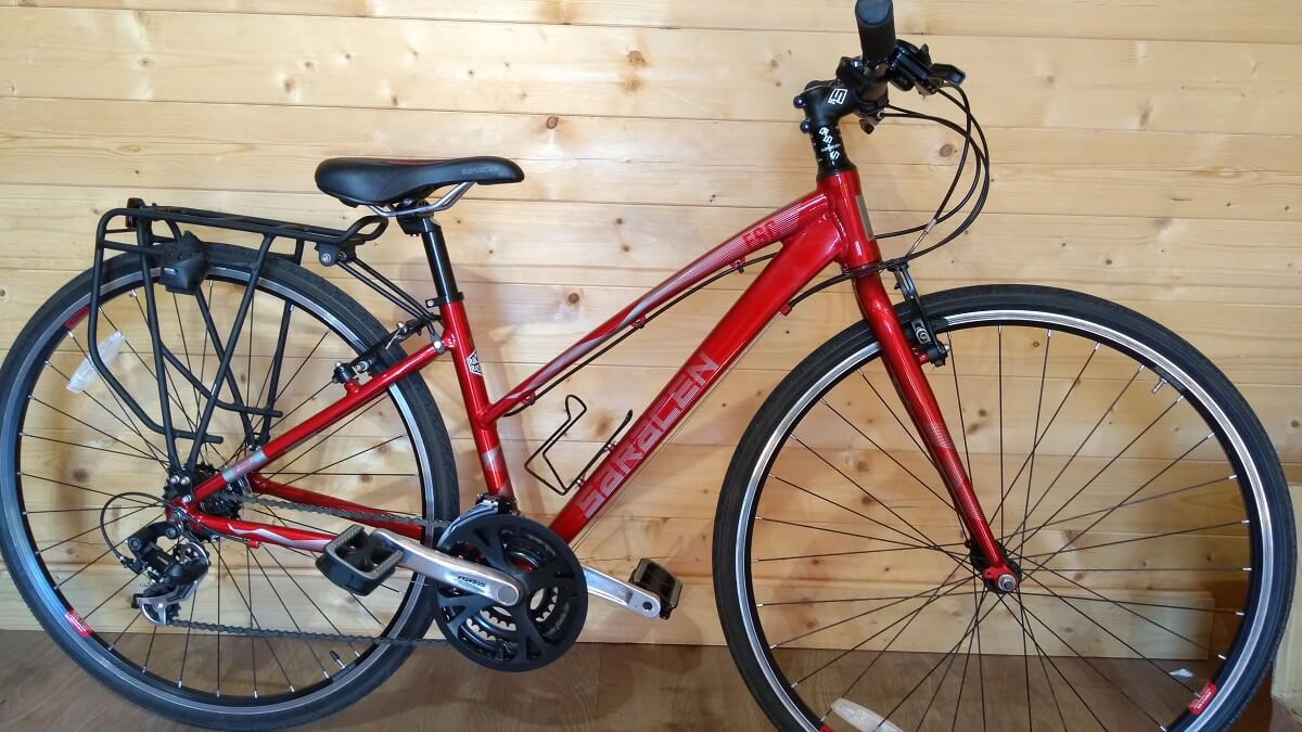 Saracen Used Hybrid Bike Womens