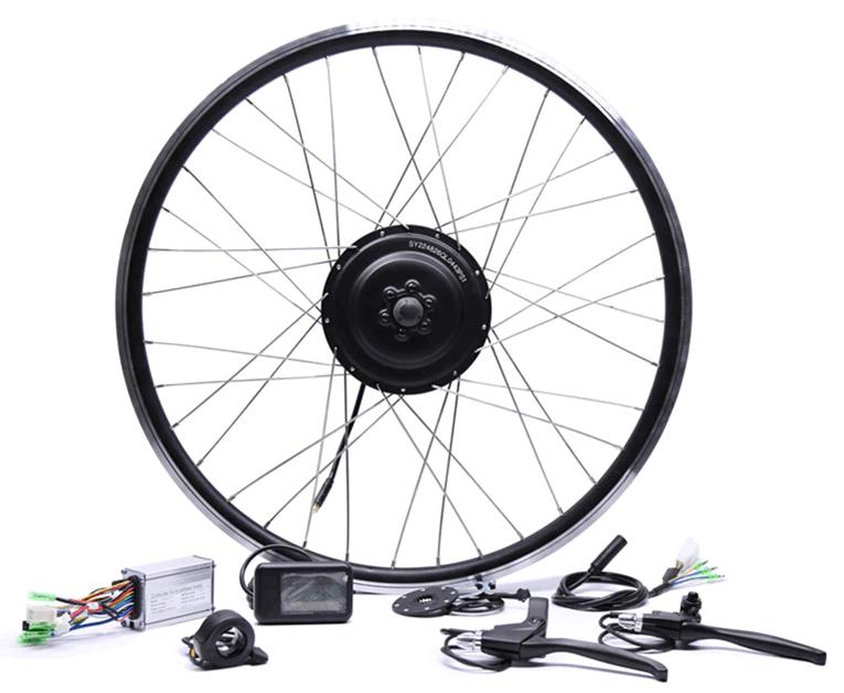 Electric Bike Rear Wheel Drive Kit Image